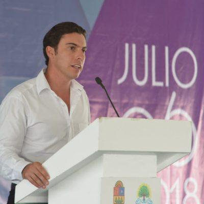"""""""MEJOR INFRAESTRUCTURA IMPULSA EL DESARROLLO"""": Acude Alcalde al 42  aniversario de la Asociación Mexicana de Agencias de Viajes de Quintana Roo"""