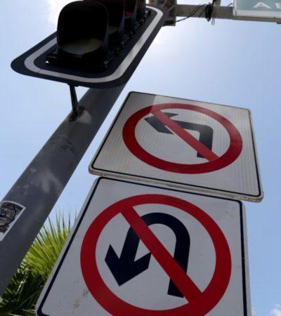 """Operativo """"vuelta a la izquierda"""" es parte del proyecto de Movilidad que beneficiará los tiempos de traslado, afirma Ayuntamiento de BJ"""