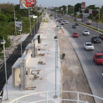 Continúa la rehabilitación del boulevard Luis Donaldo Colosio en BJ