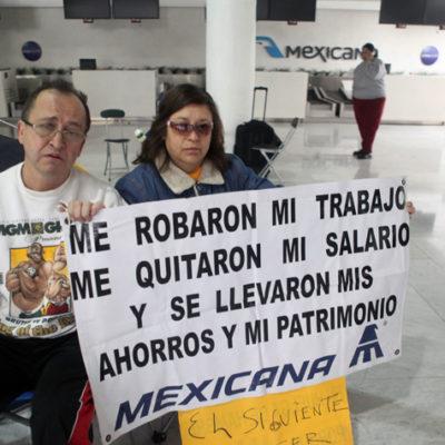 OCHO AÑOS DESPUÉS, LA PROMESA: Pagarán a 7 mil ex empleados de Mexicana 11 mdd de fideicomiso
