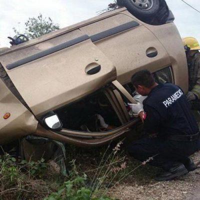 Niña de 13 años víctima fatal de accidente carretero en la Mérida-Tizimín