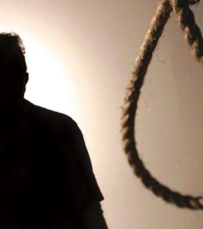 TRÁGICA HISTORIA DE AMOR: Se ahorca joven deprimido por la muerte de su amada