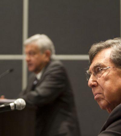Llega Cárdenas en busca de AMLO; antes no estuvo dispuesto a declarar si lo apoyaba o no
