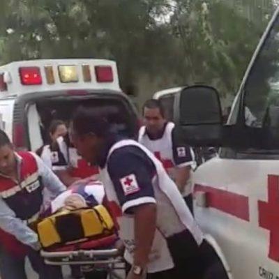 Dormita conductor y vuelca su autobús en la autopista Córdoba-Veracruz; 1 muerto y 33 lesionados