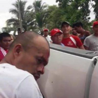 Asesina violentamente a su propia esposa e intenta solicitar un acta de defunción en Campeche