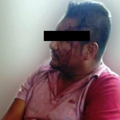 Detienen a supuesto escolta que asesinó a dos en riña de bar en Uxpanapa, Veracruz