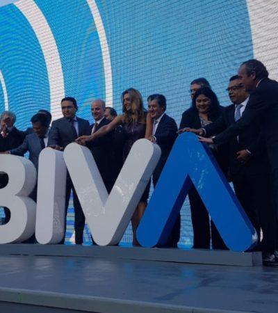 Inicia operaciones 'BIVA', segunda bolsa de valores de México