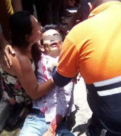Lo matan a balazos mientras comía con sus familiares en una taquería de Huimanguillo, Tabasco