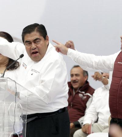 Desata 'morenovallismo' persecución contra morenistas en Puebla, acusa Barbosa Huerta
