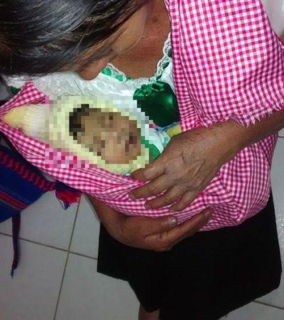 Arrebata a su propio hijo recién nacido de los brazos de su madre y amenaza con desaparecer