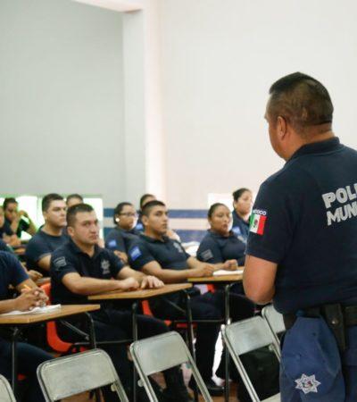 Incrementa Solidaridad 46% cursos de capacitación para policías en 2018