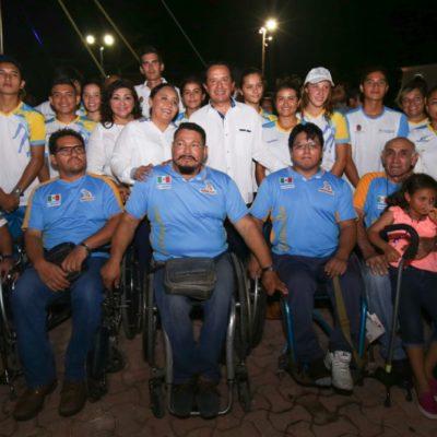 Asiste Carlos Joaquín al XXV aniversario de la creación del municipio de Solidaridad