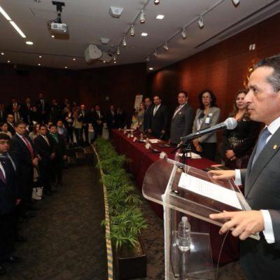Participa Gobernador en foro de industria y comercio del Senado y propone generar nuevas alternativas de crecimiento en el sur de QR
