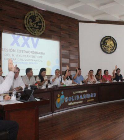 Autoriza Cabildo de Solidaridad recursos extras para policías en paro