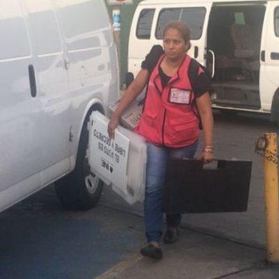 Denuncia INE 'compra' de funcionarios para abandonar la jornada electoral en Tabasco