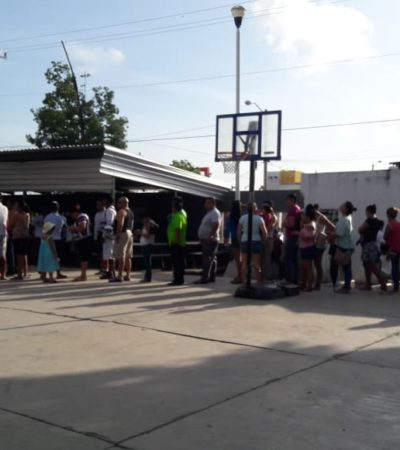 Copioso inicio de las votaciones en Quintana Roo