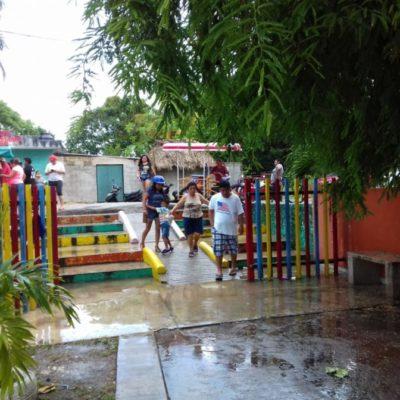 Votan carrilloportenses, a pesar de la lluvia