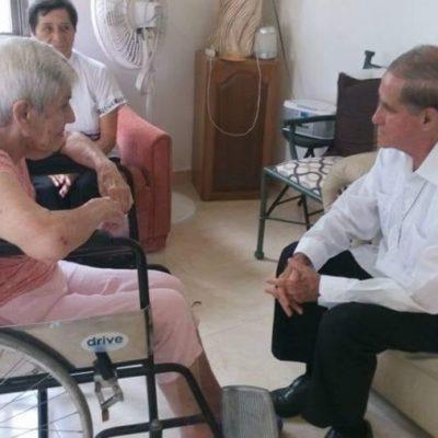 Buscan ampliar casa hogar para abuelitos en Cozumel