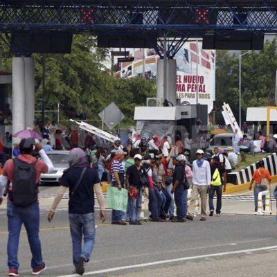 Imitan en Chiapas protestas de organizaciones sociales y cometen ilícitos contra ciudadanos