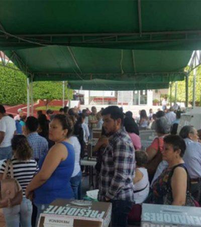 Deja 15 heridos de bala ataque a votantes en casilla de Santiago El Pinar, Chiapas
