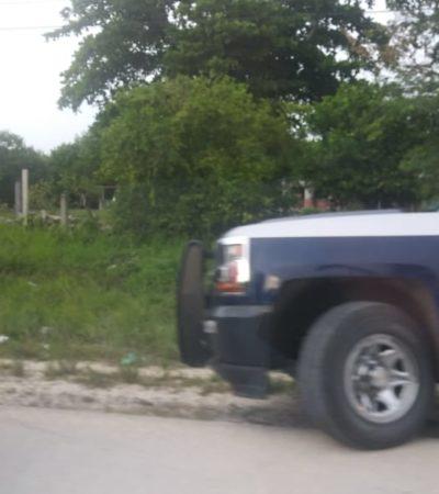 Choque de policía estatal provoca intenso tráfico en la carretera