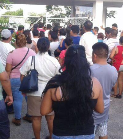Cerraron votación sin importar hubiera gente en filas, en Cancún