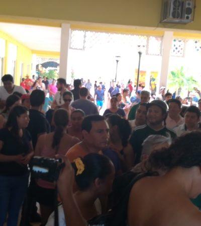 Reclaman en Cozumel por falta de boletas especiales