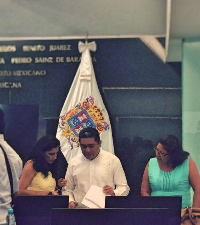 Exige dirigente de Morena que Congreso campechano respete curul que corresponde a diputado suplente