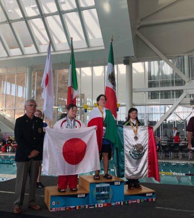 Daniela Michelle de Loera obtiene segunda medalla