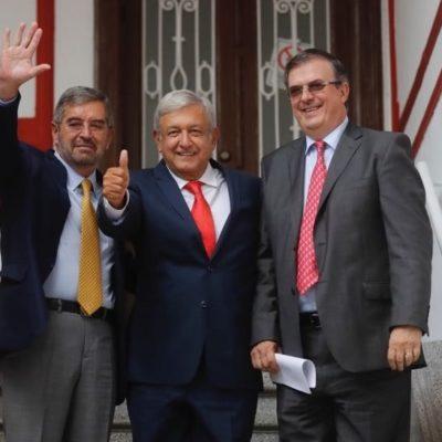 Propone AMLO a De la Fuente como embajador en la ONU; transparencia y derechos humanos serán prioridad