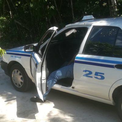 Ejecutan a un taxista en Bacalar