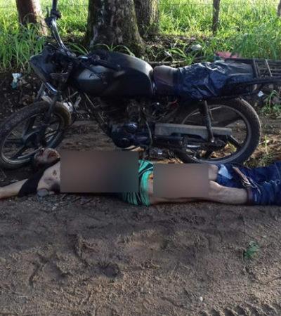 Hallan 'tirado' cadáver al que le extirparon diversos órganos internos en Tabasco