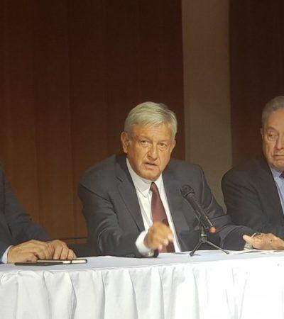 PRIMER ENROQUE EN FUTURO GABINETE: Ebrard a Relaciones Exteriores en lugar de Vasconcelos