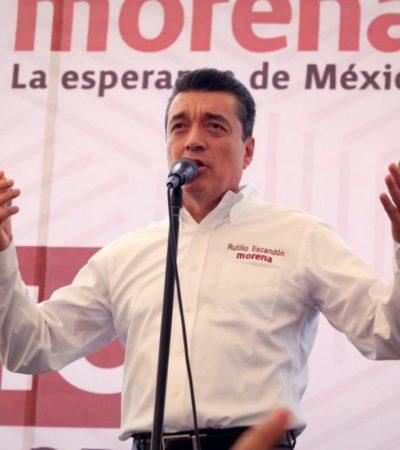 ELECCIÓN EN CHIAPAS: Ofrece Rutilio Escandón gobierno austero y eficaz de Morena; hubo anomalías, acusa contrincante