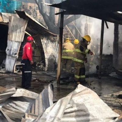Pierde mujer la vida al explotar un tanque de gas mientras cocinaba tamales; otra sufre quemaduras