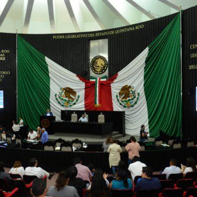 Avanza análisis de los temas para el periodo extraordinario en el Congreso de QR