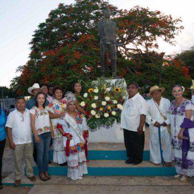 Inician con éxito festividades con motivo del 171 aniversario de la Guerra Social Maya