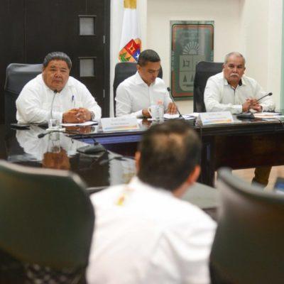 Presentan plan de trabajo de la Comisión de Defensa de los Límites de Quintana Roo