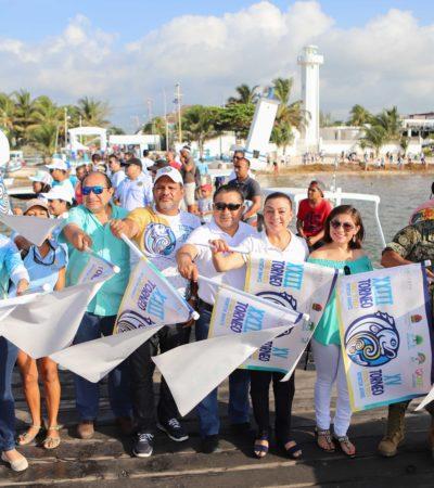Puerto Morelos fue anfitrión de torneos estatales de pesca infantil y juvenil