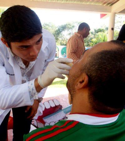 Gobierno de Puerto Morelos ofrecerá servicios médicos del 25 al 28 de julio