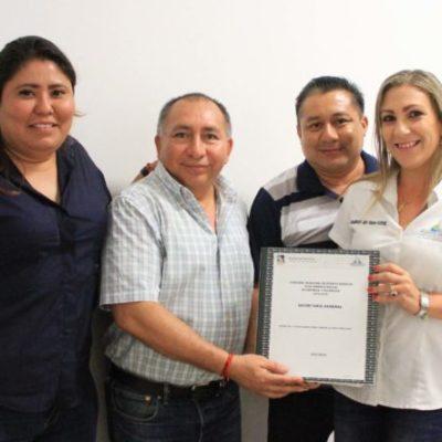 Realizan simulacro de entrega-recepción en el gobierno de Puerto Morelos