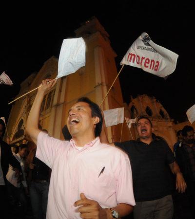 ELECCIÓN EN VERACRUZ: Aventaja Cuitláhuac García; no habrá venganza dice a los Yunes