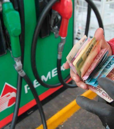 PRECISA AMLO PROMESA: Bajarán gasolina y energía eléctrica a partir del cuarto año de gobierno