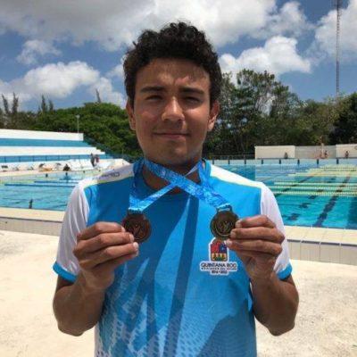 El nadador cancunense, Héctor Moreno participará en la próxima Paralimpiada Nacional 2018