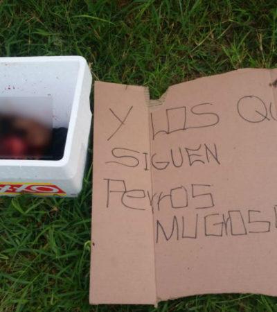 Abandonan una cabeza humana dentro de una hielera y con 'narcomensaje' en Tonalá, Jalisco