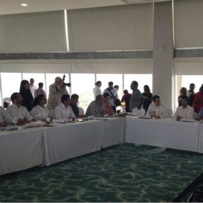 El Consejo Coordinador Empresarial del Caribe felicita a AMLO por obtener la presidencia de México y a Mara Lezama por el triunfo un BJ