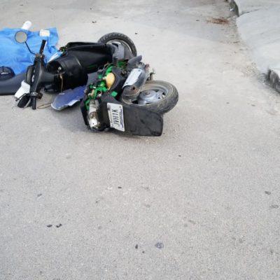 Arrollan a motociclistaen la 103, fallece sobre el pavimento