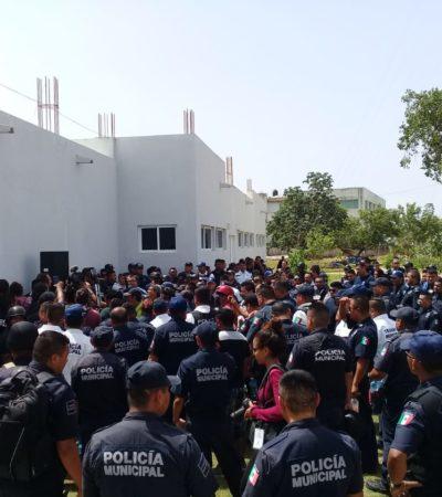 PARO TOTAL DE POLICÍAS EN PLAYA: Ante la revuelta por exigencia del pago del Fortaseg, agentes estatales llegan a suplirlos