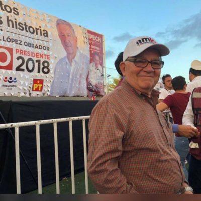 Otorga AMLO 'súper coordinación' a Arturo Abreu para Quintana Roo