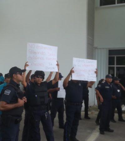 ESTATALES LE ENTRAN AL QUITE EN COZUMEL: Tras paro de policías, garantiza Rodolfo del Ángel acciones de seguridad en la isla